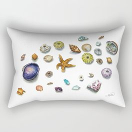 Beach Treasure Rectangular Pillow