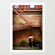 Through A Rainy Lens Art Print