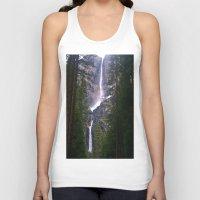 yosemite Tank Tops featuring Yosemite Waterfall by RENA16
