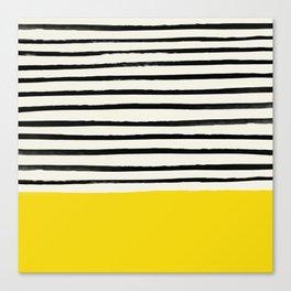 Sunshine x Stripes Canvas Print