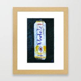 "Modelo Especial (2010), 17"" x 27"", acrylic on gesso on chipboard Framed Art Print"
