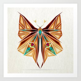 fox or butterfly?  Art Print