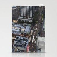 sydney Stationery Cards featuring Sydney  by Cynthia del Rio