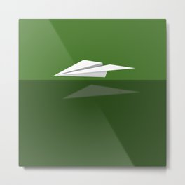 Paper Airplane 7 Metal Print