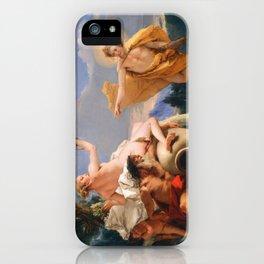 Oil Painting Apollo Pursuing Daphne by Giovanni Battista Tiepolo iPhone Case