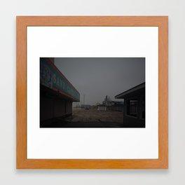 The Boardwalk, After Sandy Framed Art Print