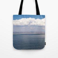 Clouds Over Mono Lake (California) Tote Bag