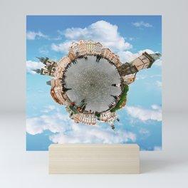 Little Planet Prague Mini Art Print