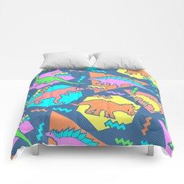 Nineties Dinosaur Pattern Comforters
