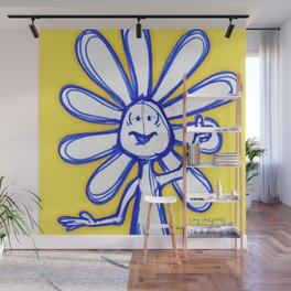 """""""Joy Inspires All Other Emotions"""" Flowerkid Wall Mural"""