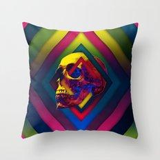 Lifeful Skull V2 Throw Pillow