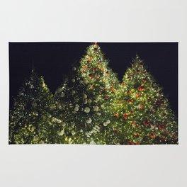 Christmas Lights Rug