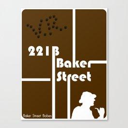 Baker Street Babes: 221B Baker Street Canvas Print