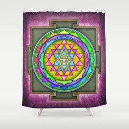 Sri Yantra VII.V Shower Curtain