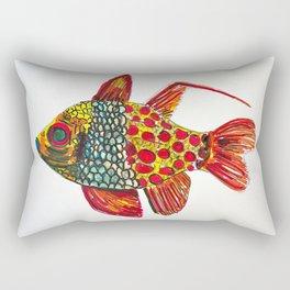 Pajama cardinalfish Rectangular Pillow