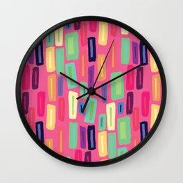 Square Mica Wall Clock