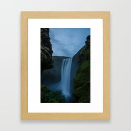 Cascading Waterss Framed Art Print
