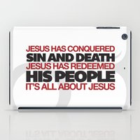 easter iPad Cases featuring Easter by Trey VanCamp