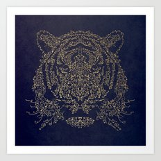 Ornamental Tiger Art Print