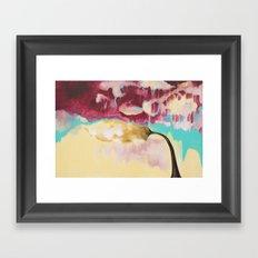 Weight of Sound Framed Art Print