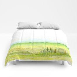 Green meadow Comforters