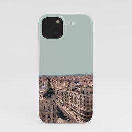 Madrid, Spain Travel Artwork iPhone Case