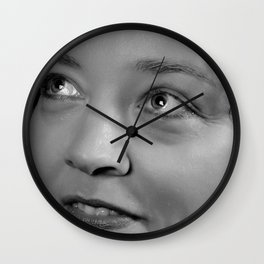 bright-eyed Wall Clock