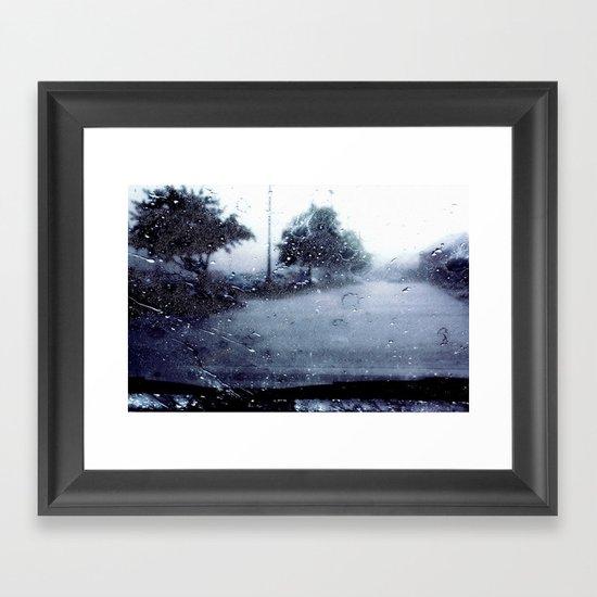 Seasons On Me  Framed Art Print