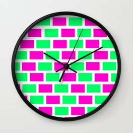 pattern  color Wall Clock