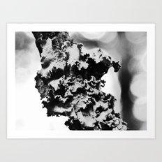 moon fungus III Art Print
