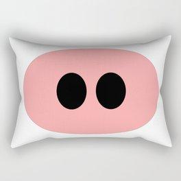 Cute Pig Rectangular Pillow