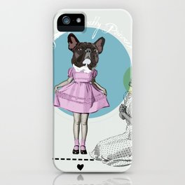 Pretty Chauncey Princess - French Bulldog iPhone Case