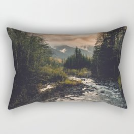 The Sandy River II Rectangular Pillow