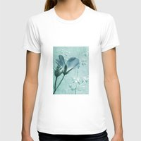 bill T-shirts featuring crane's bill  by PaulaPanther