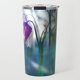 Chequered lily with its magical spirit Travel Mug
