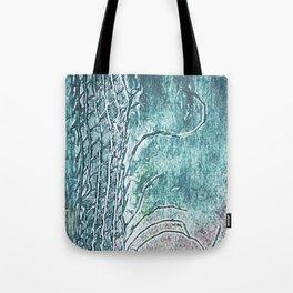 dark landscape Tote Bag