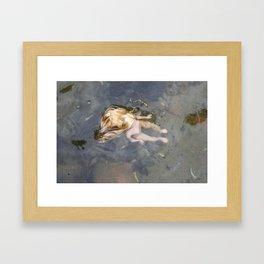 She Debris Framed Art Print