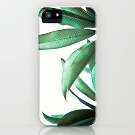 Malibu II (Leaf Print) iPhone Case