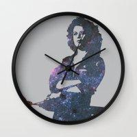ripley Wall Clocks featuring Ellen Ripley - Alien by pennyprintables