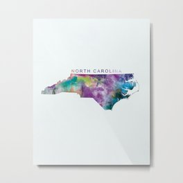 North Carolina Metal Print