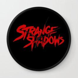 Strange Shadows Wall Clock