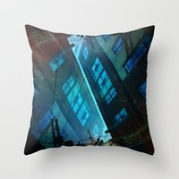 inception Throw Pillows featuring Inception. by Vanessa Furtado