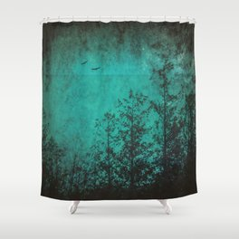 Faded Souls Shower Curtain