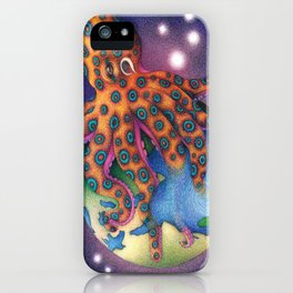 """Octo World"" iPhone Case"