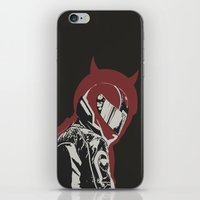 daredevil iPhone & iPod Skins featuring Daredevil by OdhranHampsey