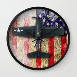 Grumman F6F Hellcat Wall Clock