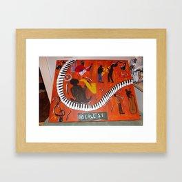 Beale St (Memphis, TN) Framed Art Print
