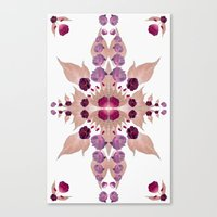 kaleidoscope Canvas Prints featuring Kaleidoscope by Karolis Butenas