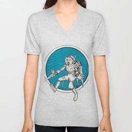 Cosmic Warrior Unisex V-Neck