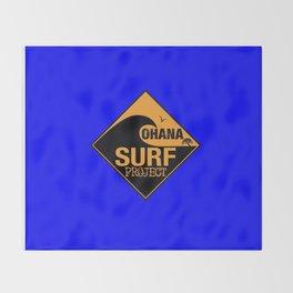 Ohana Surf Project Throw Blanket